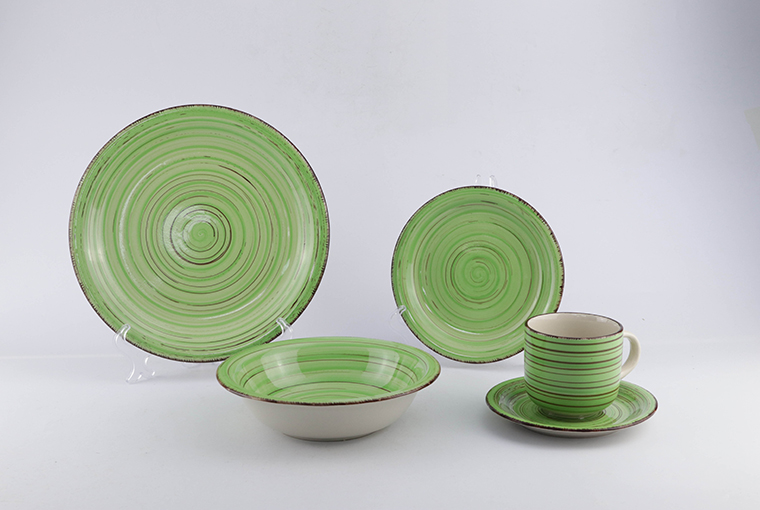 20pc& 30pc hand-painted ceramic dinnerware for family use 5