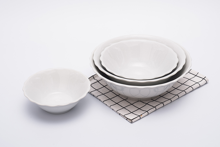special rim bowl with reinforced rim for hotel catering  2