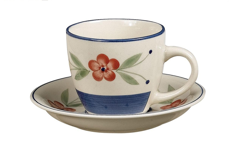 china set new design 220cc  hand-painted coffee cup set 4